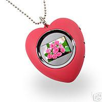 Digital Photo Keychain 1.1 inch (Heart Shape)
