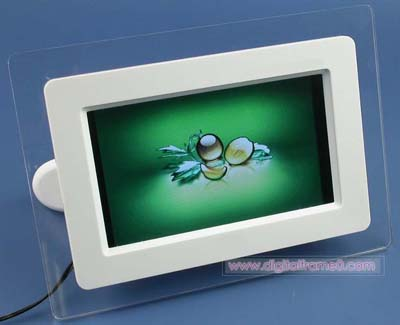 7 inch  high class digital frame-front