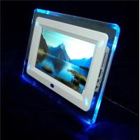 Full Function 7 Digital Frames With Blue Backlight