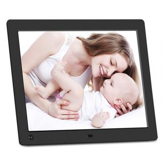 Motion sensor digital photo frame