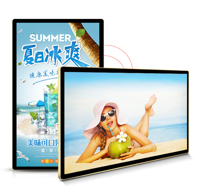 55 inch extra large digital advertising screen
