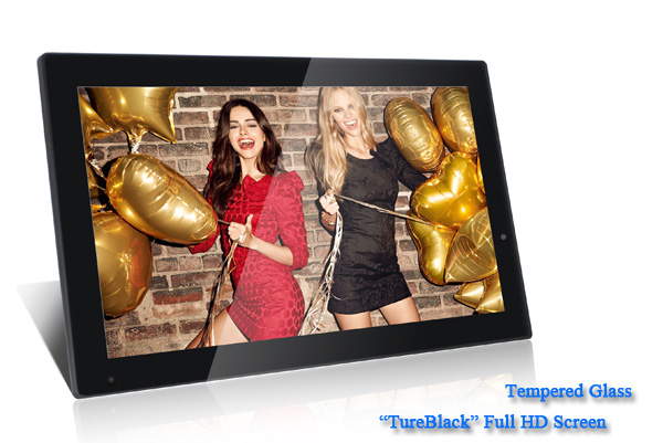 22 inch digital photo frame,advertising screen
