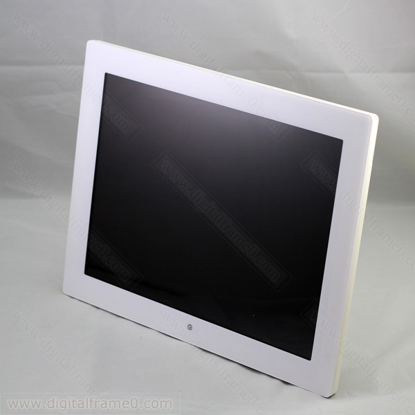 14 inch large digital frame in white