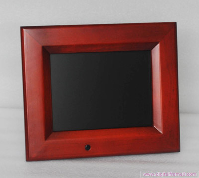 8  inch wood digital frame