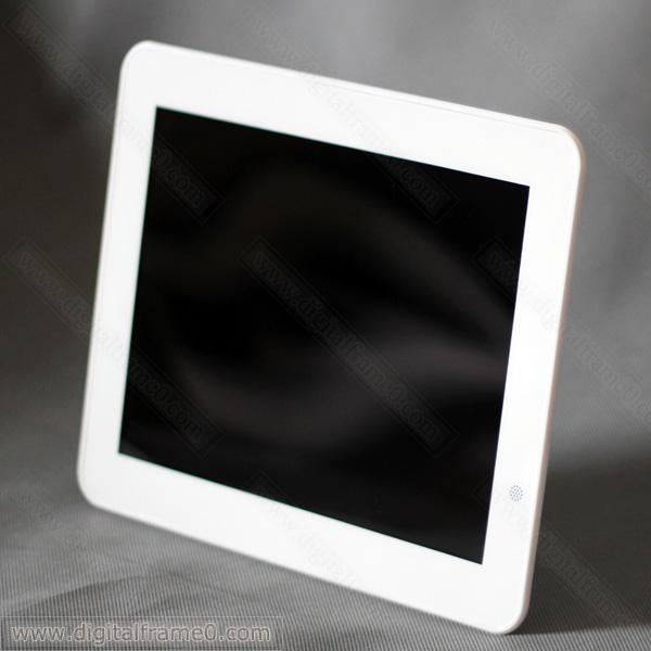 Nearly 10 (9.7) inch ultra slim digital frame in white