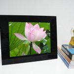 12 inch black digital photo frame